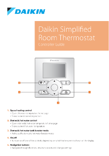 Simplified Room Thermostat_UserGuide_English