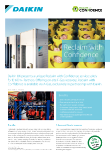 Reclaim With Confidence Datasheet