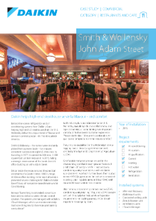 Food Retail_Refurb_Climate Control_Smith & Wollensky case study