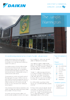 Leisure_Refurb_AHU_The Jungle Warrington case study