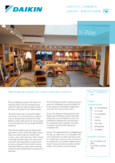 Non retail_refurb_R32 Sky Air_K-Way_Case study
