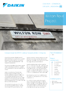 Residential_Refurb_VRV-S_Wilton Row Case study