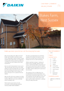 Private_Refurb_24kW Gas Condensing Boiler_Blakes Farm Case Study