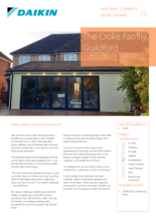 Private_Refurb_35kW Gas Condensing Boiler_The Croke Family, Guildford Case Study