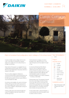 Private_Refurb_Altherma HT_Classic Cottage, Cornwall Case study