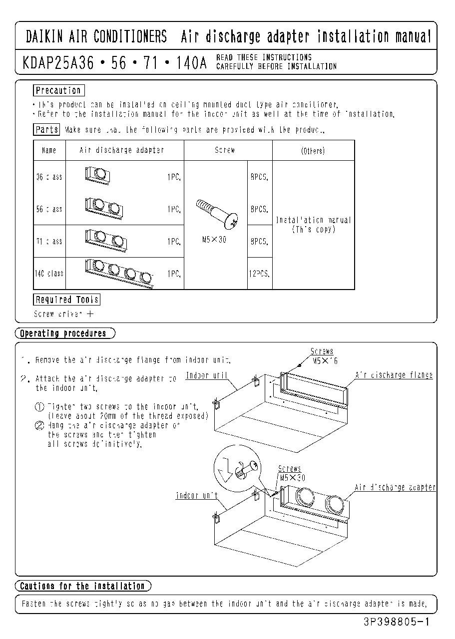 Fxsq A Daikin Warm Zone Wiring Diagrams Download