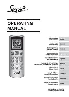 acq d daikin rh daikin co uk daikin siesta manuale d'uso telecomando daikin siesta manual instrucciones