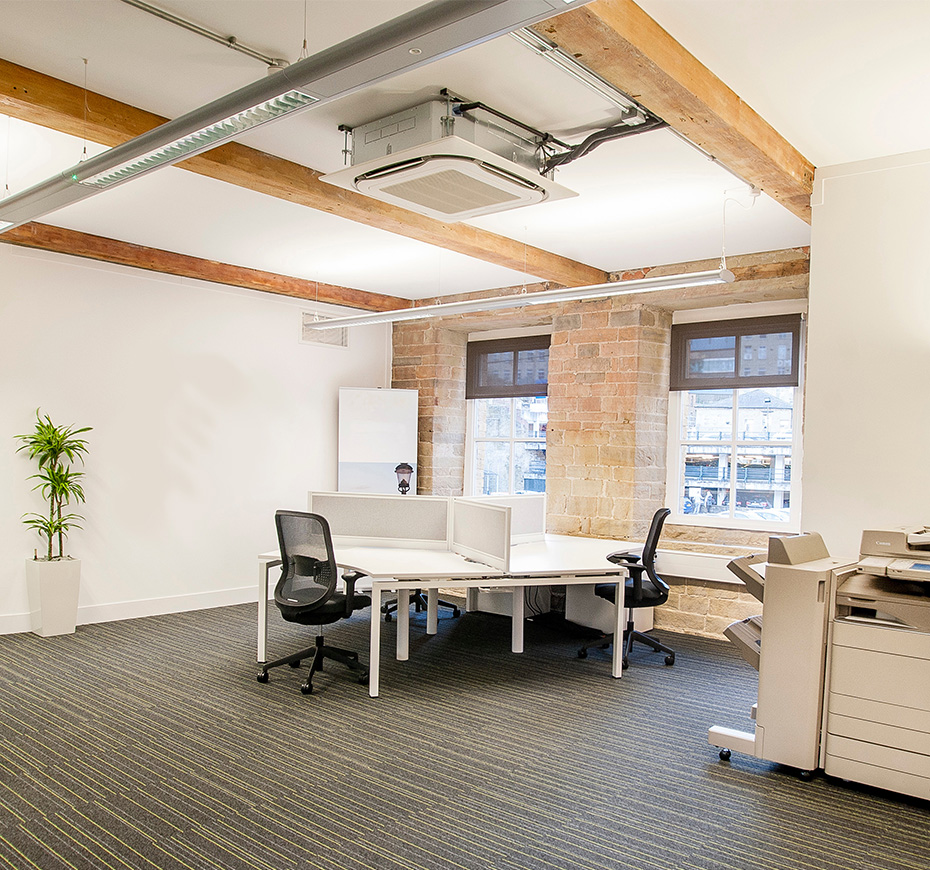 VRV spins a comfortable workplace for bankers in converted mill